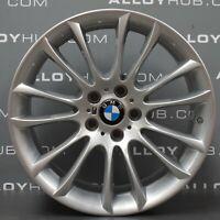 "GENUINE BMW 20/"" X3 X4 310 M SPORT DOUBLE SPOKE FERRIC GREY ALLOY WHEELS F25 F26"