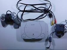 Sony PlayStation 1 Slim White Console (SCPH-101) TESTED WORKING