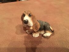 Basset Hound Stone Critters Figurine Dog Figure Made in USA