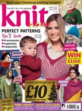 KNIT NOW ISSUE 65 MAGAZINE WITH BONUS KNITMAS CHRISTMAS KNITTING PATTERNS BOOK