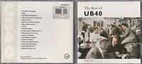 CD UB40 (UB 40) THE BEST OF VOLUME ONE 18 TITRES TBE DE 1987