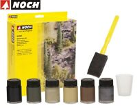 NOCH 61200 Naturfarben-Set (100 ml - 16,83 €) - NEU + OVP