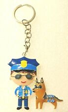 Paw Patrol Chase Policedog Ryder Keychain Zipper Pull Book Bag Charm Key Ring