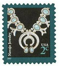 USPS Stamps Navajo Jewelry 2007 Mint Never Hinged Unused Unsealed 3753 Lot of 13