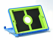 Defender Hard Shell w/Stand Cover fits Otterbox iPad Mini 1 2 3 Case Blue/Green