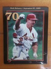 Collector Square Plate Mark McGwire 70! From the collection of King of Swing