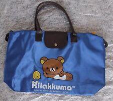 Rilakkuma Blue Nylon Bag / Tote