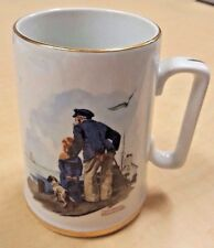"Norman Rockwell's Seafarers Collection - Week 1 Tankard ""Looking Out To See"""