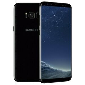 Samsung Galaxy S8 SM-G950W - 64GB - Midnight Black (Unlocked) with Shadow