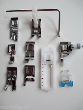 SET OF PRESSER FEET / FOOT/ ATTACHMENTS * SINGER SLANT SEWING MACHINES (listed)