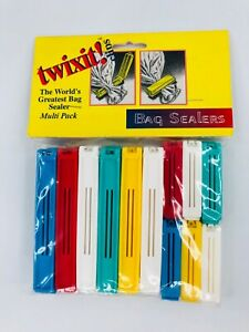 Twixit! Bag Sealers Clips Multi Pack 12 Large 12 Small
