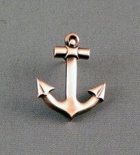 Metal Enamel Pin Badge Brooch Anchor Ship Yacht Sail Sailor Boat Sea Copper