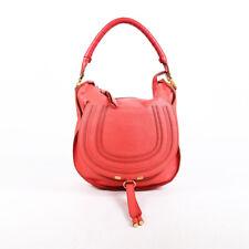 Chloe Bag Marcie Pink Leather Hobo