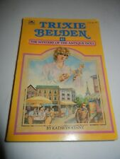 Vintage Trixie Belden THE MYSTERY OF THE  ANTIQUE DOLL Katherine Kenny PB #36