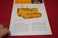 Allis Chalmers HD-11 Crawler Tractor Dealer's Brochure YABE14 ver26