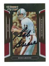 Bob Griese 2008 Donruss Sports Legends Autograph Football Card Miami Dolphins