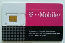 T-Mobile Unlimited Data 4G Lte No Throttling Sim - beats At&T, Verizon & Sprint