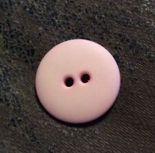 DILL BUTTONS #103026 PINK ROUND--2 HOLE--20MM-- 11 PIECES