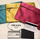 Prada Special Edition Silk Clutch Bag Np 600€ Neu