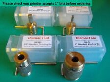 4 Standard Grit Grinding Bits for Inland, Glastar etc. stained glass