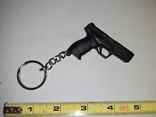 Sarsilmaz SAR 9 Keychain Black Plastic Key Chain Pistol Miniature Gun SHOT SHOW