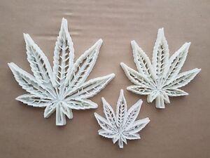 Cannabis Ganja Hemp Leaf Shape Cookie Cutter Dough Biscuit Pastry Fondant Sharp