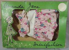 VINTAGE 1960s BOXED AMANDA JANE JINX DRESS 'ATLANTA' (407) MINIFASHION CLOTHES
