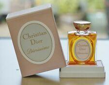 New listing Vintage 80s DIORISSIMO CHRISTIAN DIOR splash PURE PARFUM 15cc~1/2 oz OLD FORMULA