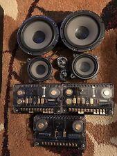 MB Quart QSD 216 2-Way 6.5in + qwd 100 mids  3way set