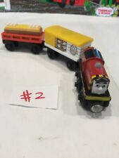 Thomas the Train & Friends Wooden, SALTY, TALKING CHICKEN CAR  &  EGG CARGO RARE