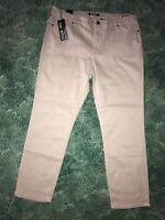 Buffalo David Bitton Skinny Ankle Grazer Mid Rise Jeans Womens Size 14/34