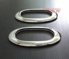 2 CHROME INDICATOR TRIM RIM MITSUBISHI 1995-2015 TRITON MK ML MN UTE L200 ANIMAL