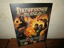 GenCon 50 Paizo Pathfinder Module: Heroes for Highdelve