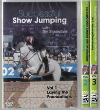New 3 DVD SET SUCCESSFUL SHOW JUMPING TIM STOCKDALE