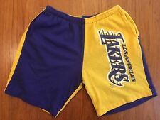 Rare Vintage Los Angeles LAKERS Hummer Sportswear sweat shorts LA USA nba