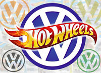 HOT WHEELS - The Volkswagen Collection - Beetle VW Kombi Caddy Golf Hotwheels
