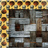 BoBunny 12x12 scrapbooking paper Wonderfully Wicked Collection Wretched 2 sheets