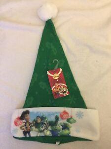 Disney Pixar TOY STORY Christmas Santa Hat BUZZ LIGHT YEAR Woody