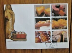 Portugal GASTRONOMY SWEETS COOKIES CAKES 6 STAMP SET  1999    FDC VF UNADDR