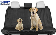 Black Waterproof Pet Dog Cat Seat Cover Car Seat Cover For Cars Trucks and Suv