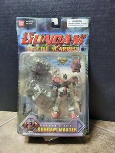 2003 Sealed Gundam Battle Scarred Mobile Fighter Gundam Maxter Bandai, Red, New!