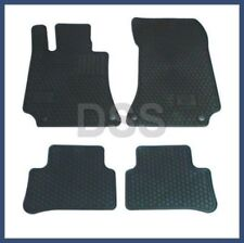 Genuine Mercedes E-Class CLS Rubber Floor Mats All Weather Black 10-16 Q6680710