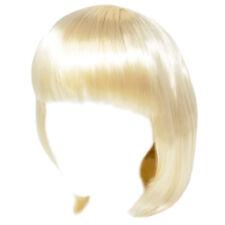 Economy Blonde Bob Wig ~ADULT/TEEN HALLOWEEN SHORT BOB COSTUME COSPLAY PARTY WIG