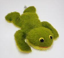 "8"" VINTAGE DARDANELLE PILLOW PETS DAKIN GREEN FROG STUFFED ANIMAL PLUSH TOY"