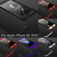 Case For Apple iPhone SE 2020 Shockproof Slim 360° Hybrid Silicone Case Cover