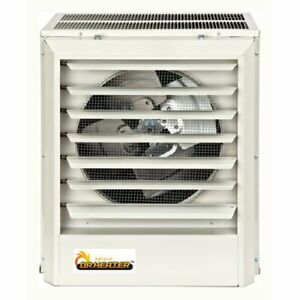 Dr. Infrared Heater 68,240 BTU Electric Forced Air Wall Mounted Heater