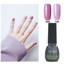 2X RS-Nail 090149 Gel Nail Polish UV LED Shiny Varnish Soak Off Violet Purple