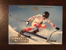 1996 Upper Deck U. S. Olympic #82 - Bill Johnson - Downhill Skiing
