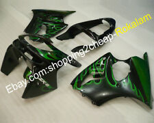 Cheap ZX6R 636 Fairings For Kawasaki 1998 1999 ZX-6R Ninja ZX636 Flame Body Kit