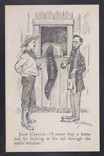 "Canada 1910s CONSERVATIVE POLITICAL Postcard ""Tory Promises"" Unused"